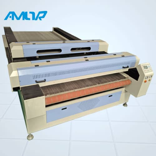 DCL1630 Two crossbeam automatic laser cutter