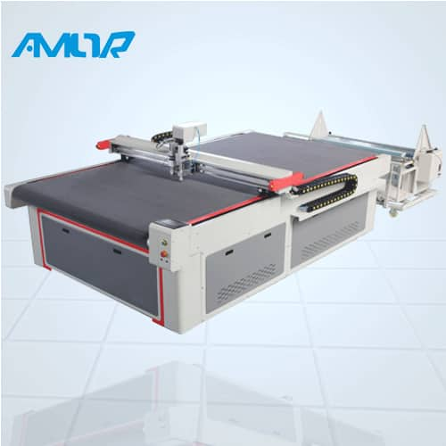 SFK automatic fabric cutter