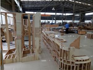 Furniture manufacturing factory